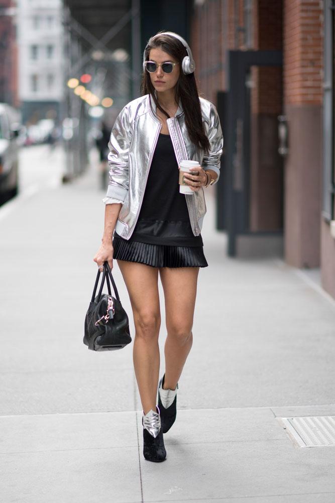 Metallic Street Style / Look 1
