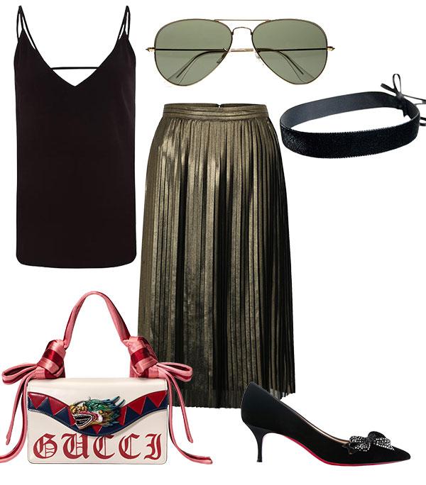 Metallic Street Style / Look 3 Produkte