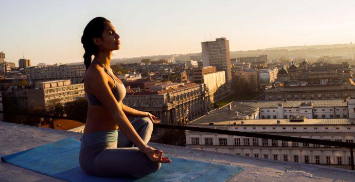Guerilla-Yoga: Asanas erobern die Großstadt