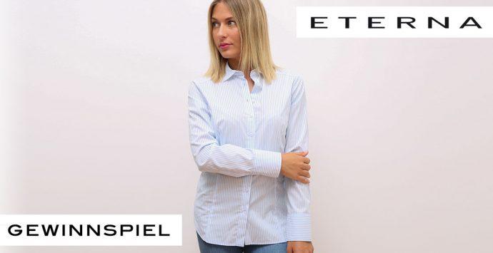 Gewinne eine edle Bluse von ETERNA!
