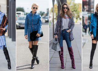 Overknees Street Styles: Schick deine Beine in die Verlängerung!