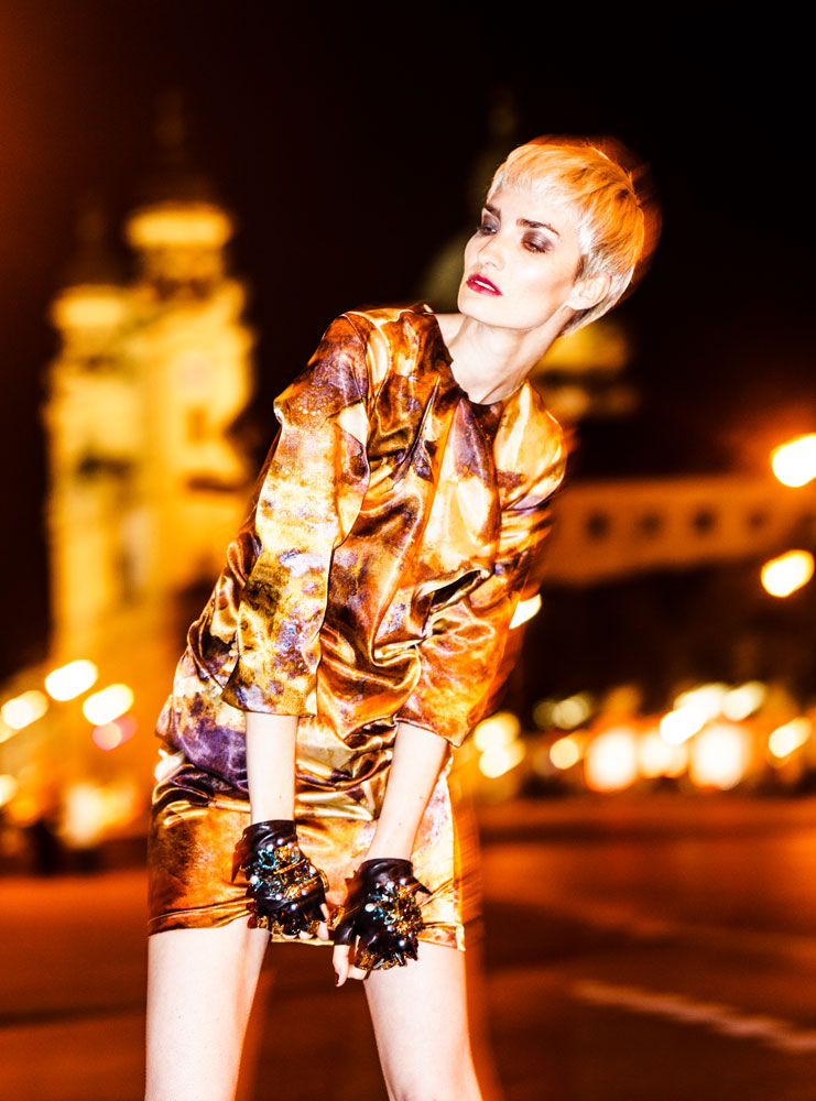 Editorial City Lights Look 6