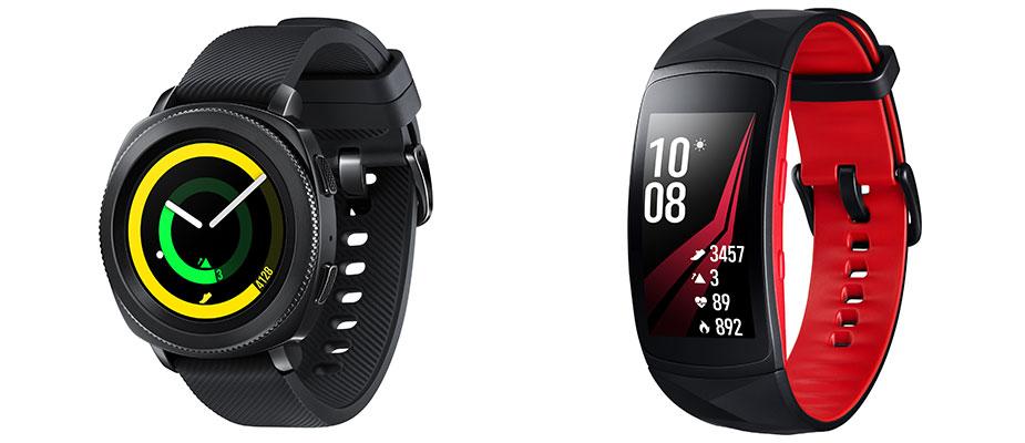 Samsung Gear Sport und Gear Fit2