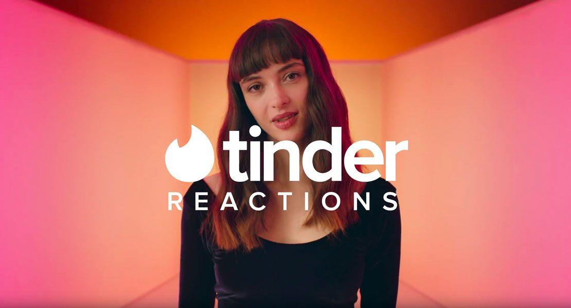 Anzeige: Brandneu – Tinder Reactions –  Aller Anfang kann so einfach sein