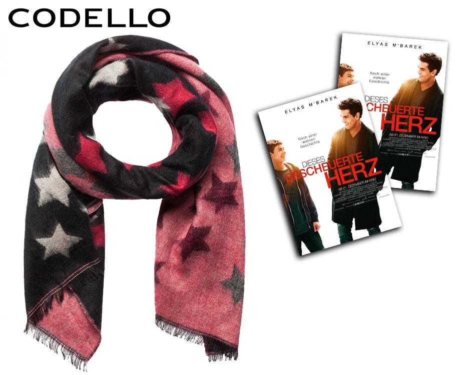 Schal mit Sternchen-Muster von Codello