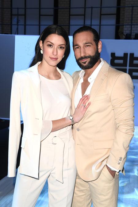 Rebecca Mir and Massimo Sinato