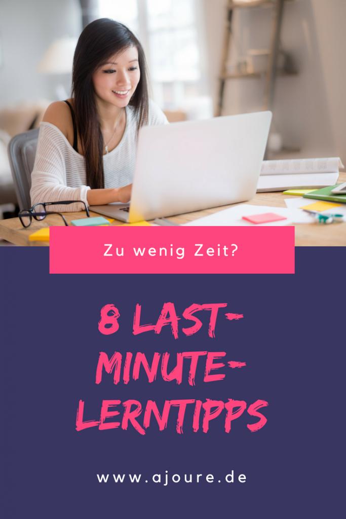 Last-Minute-Lerntipps