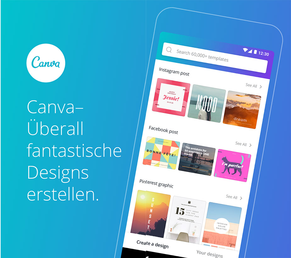 App of the Month: Canva - AJOURE.de