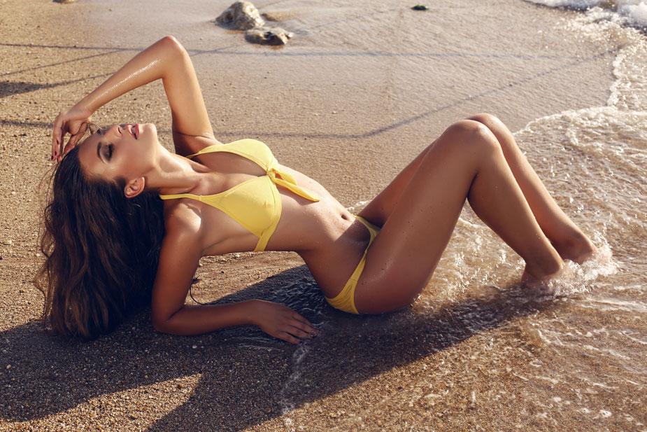 Beach Waves Frisur selber machen