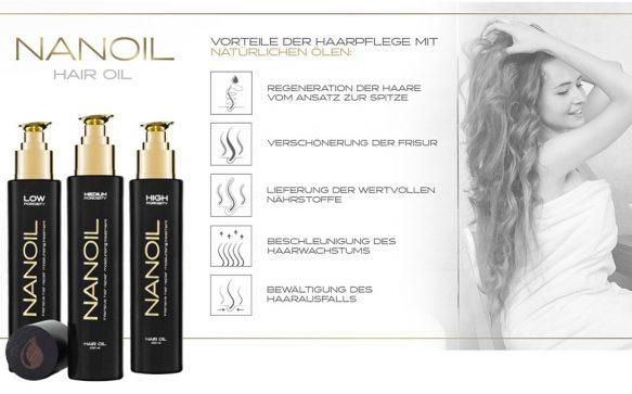 Das Geheimnis schöner Haare: ein ideales Haaröl