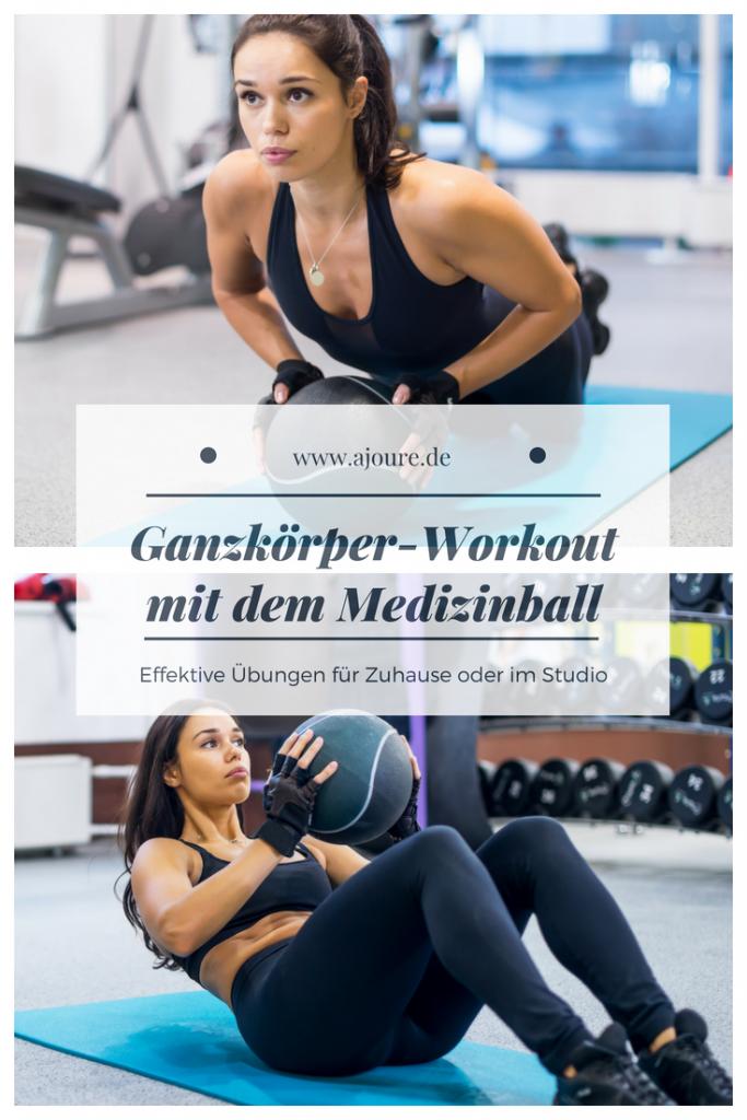 Medizinball Workout auf Pinterest