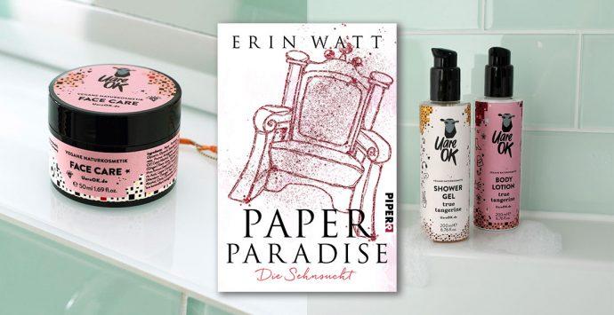 Verlosung zum Buch-Release von PAPER PARADISE