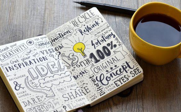 Sketchnotes lernen:  So hältst du deine Gedanken grafisch fest