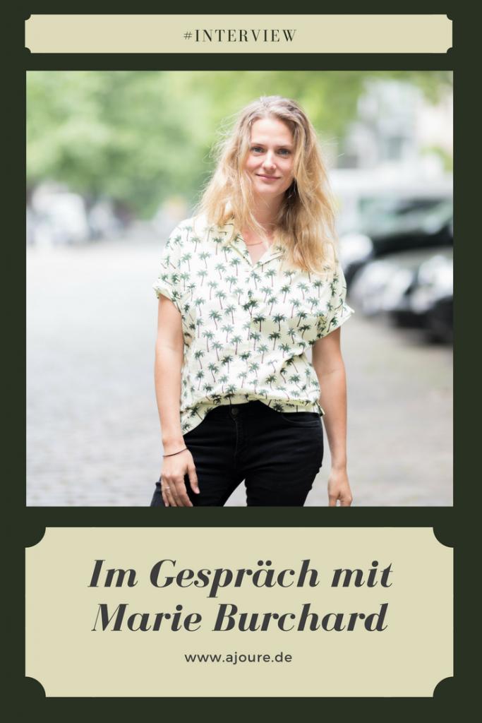 Marie  Burchard Interview Pinterest
