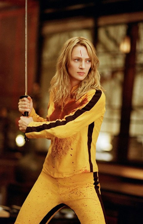 Uma Thurman in Kill Bill