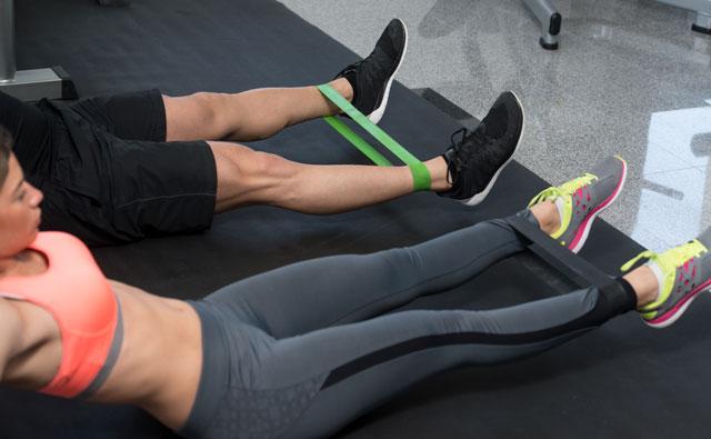 V-Legs mit Powerbands