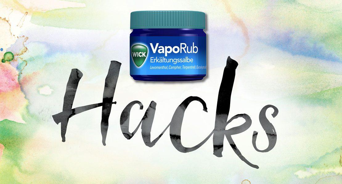 16 ungewöhnliche, aber wirkungsvolle Verwendungsmöglichkeiten von Wick VapoRub