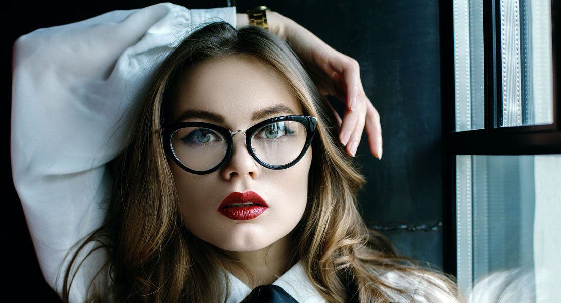Die Brille als Modestatement:  Coole Styling-Tricks