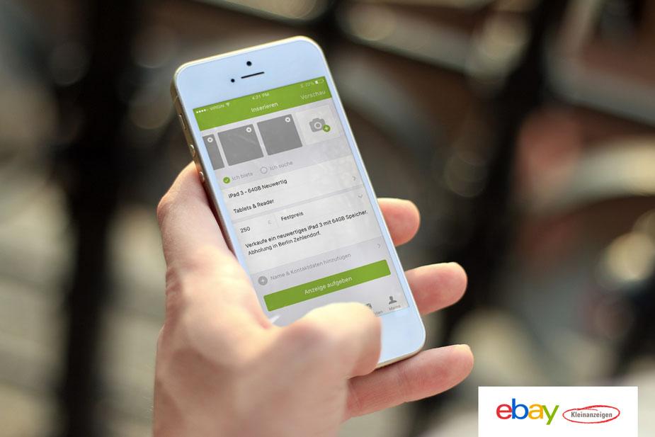 eBay Kleinanzeigen-App