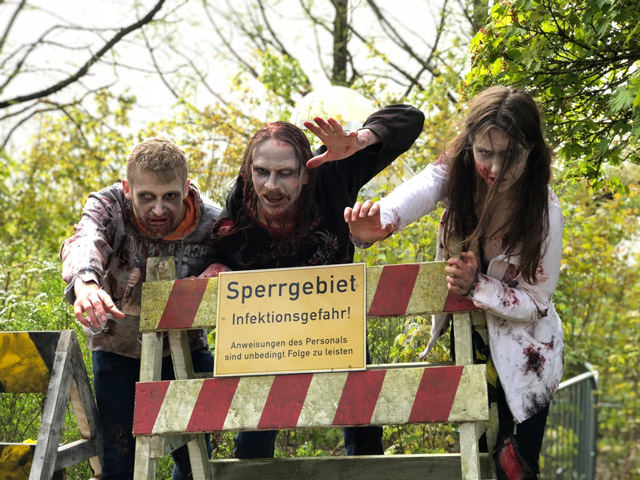 Halloween  im Heide-Park Soltau