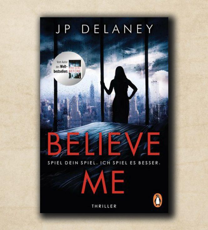 Unser Buchtipp des Monats: Believe Me – Spiel Dein Spiel.  Ich spiel es besser.