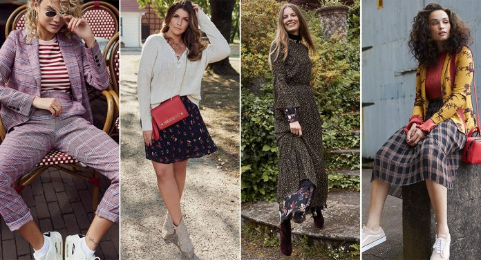 Street-Styles: Muster-Mix im Herbst