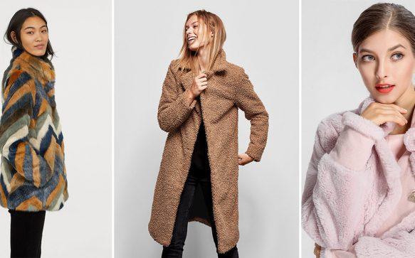 Kuschelalarm: So stylst du die trendigen Teddymäntel im Herbst