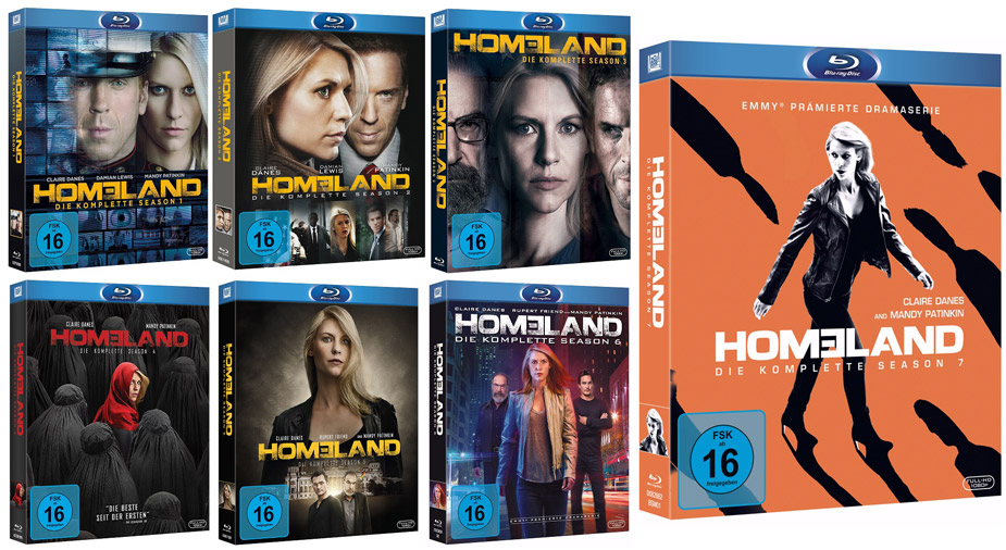 HOMELAND Alle Seasons