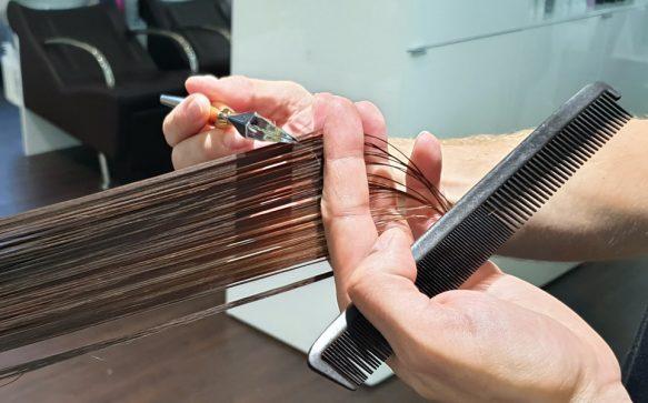 Calligraphy Cut: Dieser Haarschnitt zaubert mehr Volumen
