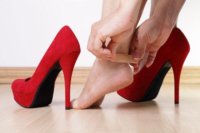 Schuhe Blasen Pflaster
