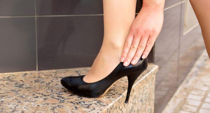 Schuhe zu klein oder zu groß