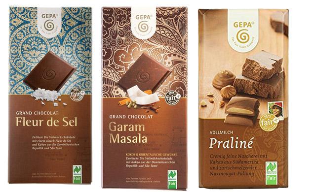 Faire Bio-Schokolade