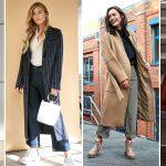 Street Styles: Wintermäntel stylish kombinieren