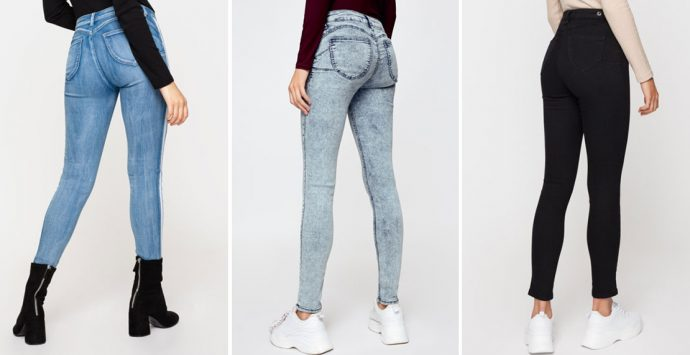 Knackiger Po dank Push-up Jeans?!
