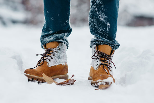 Schuhe winterfest