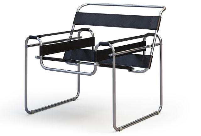 Bauhaus Freischwinger-Stuhl
