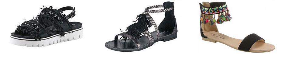 Fransen Schuhe