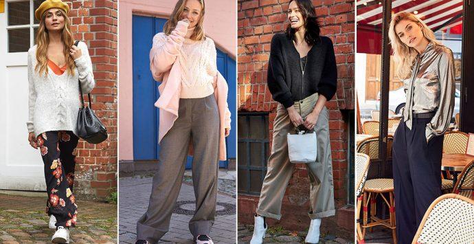 Wide Leg: So stylst du weite Hosen!
