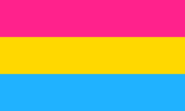 pansexuell Flagge