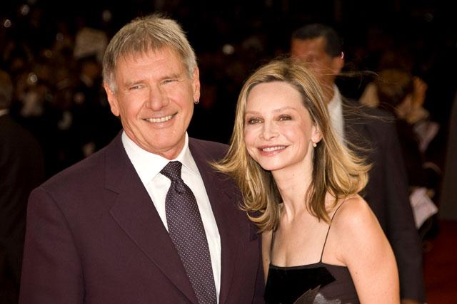 Calista Flockhart mit ihrem Mann Harrison Ford