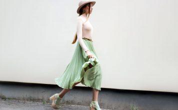 Satin-Röcke im Trendcheck