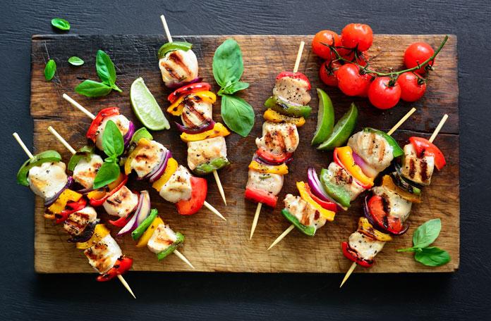 gesund und fettarm grillen