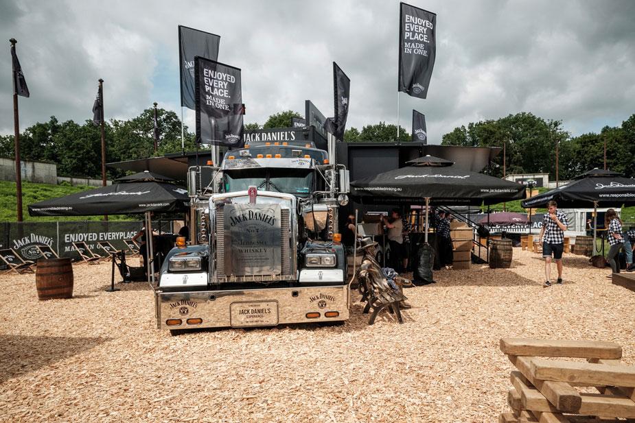 JACK DANIEL'S Festival-Truck