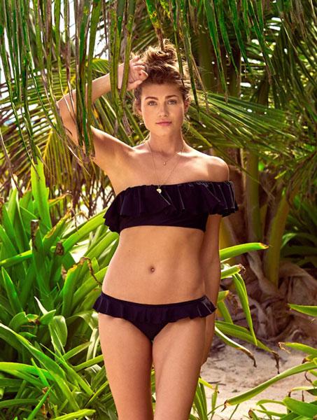 Bikini Trend Volants One Shoulder Bikini