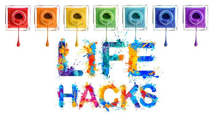 Nagellack-Lifehacks