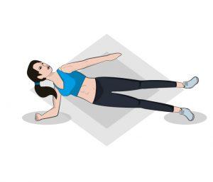 Seitlicher Plank