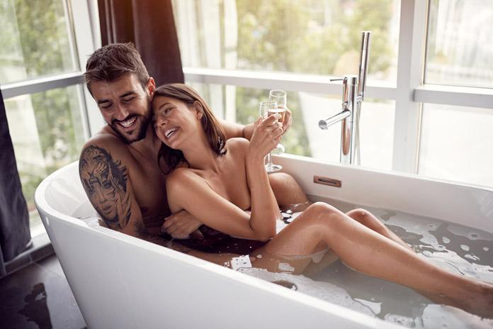 Sex in der Badewanne