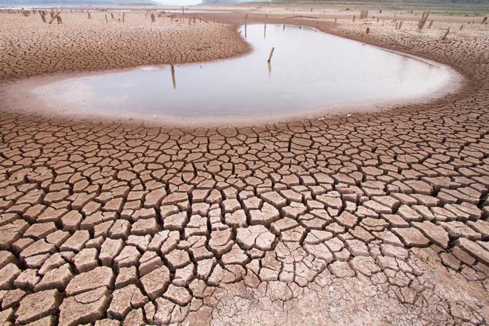 Dürre durch Klimaerwärmung