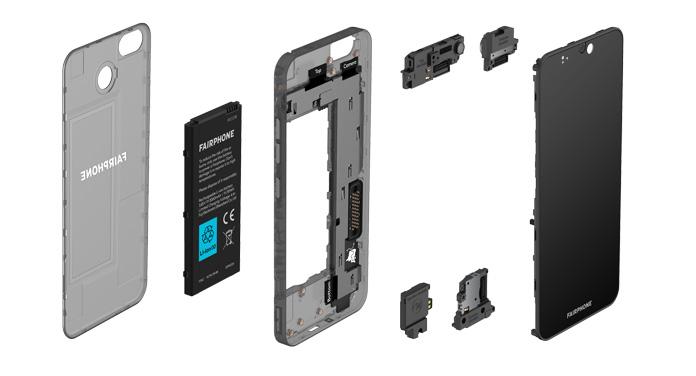 Fairphone 3 Komponenten