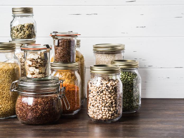 Vorratsglas für Lebensmittel